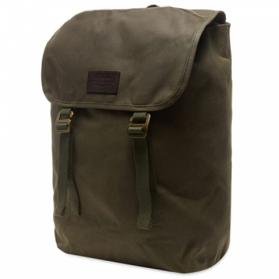 Filson Rugged Twill Ranger Backpack Otter Green i gruppen Red Wing Stockholm / Herr / Moc Toe hos Sivletto - Skylark AB (Filson-20137828-otter)