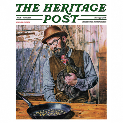 Heritage Post issue 29 English edition i gruppen Red Wing Stockholm / Accessoarer / Tidningar hos Sivletto - Skylark AB (HP-29)