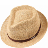 Stetson Alpena Player Crochet Raffia Hat