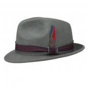 Stetson Player woolfelt grey hat
