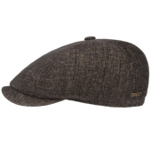 Stetson Hatteras Cotton Cap Brown