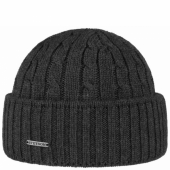 Stetson Georgia Beanie Dark Grey