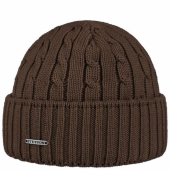 Stetson Georgia Beanie Brown