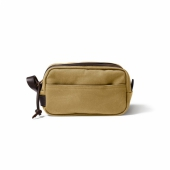 Filson Rugged Twill Travel Kit Dark Tan