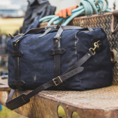 Filson Rugged Twill Medium Duffle Navy