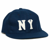 Ebbets Field New York Black Yankees 1936 Vintage Ballcap