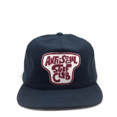 Ampal Creative Anti-social Surf Club Strapback Navy