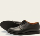 Postman Oxford Style No. 101 - Black Chaparral Leather