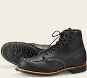 Cooper Moc Style No 2964 - Black Harness Leather