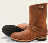 Engineer Style No 2972 - Copper Rough & Tough Leather