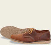 Weekender Oxford Style No 3303 - Copper Rough & Tough Leather