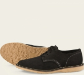 Weekender Oxford Style No 3304 - Black Abilene Leather