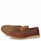 Weekender Oxford Style No 3306 - Red Maple Muleskinner Leather