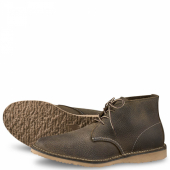 Weekender Chukka Style No 3327 - Olive Brown Roughneck Leather