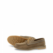 Wacouta Camp Moc Style No 3330 - Camel Muleskinner Leather