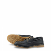 Wacouta Camp Moc Style No 3332 - Navy Portage Leather