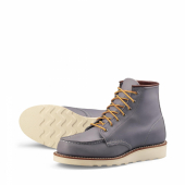 6 inch Moc Style No 3378 - Granite Boundary Leather