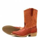 Eat Dust Pecos Style No 4327 - Oro-Russet Portage/Abilene Leather