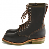 Climber Boot Style No 4328 - Black Prairie Leather