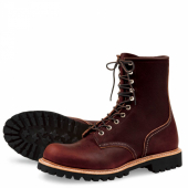 Logger Style No 4585 - Briar Oil Slick Leather