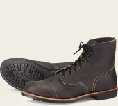 Iron Ranger Style No 8086 - Charcoal Rough & Tough Leather