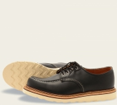 Classic Oxford Style No 8106 - Black Chrome Leather