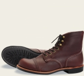 Iron Ranger Style No 8119 - Oxblood Mesa Leather