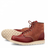 6-inch Moc Style No 8819 - Oro-Russet Portage & Oro Russet Abilene