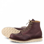 6 inch Moc Style No 8856 - Oxblood Mesa Leather