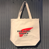 Red Wing Shoes Tote Bag