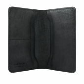 Passport Wallet Black Frontier