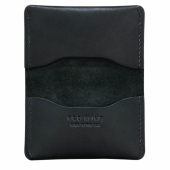 Card Holder Fold Black Frontier