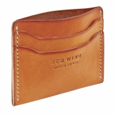 Card Holder Flat London Veg Tan