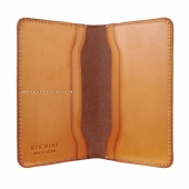 Passport Wallet London Veg Tan