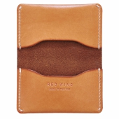 Card Holder Fold London Veg Tan