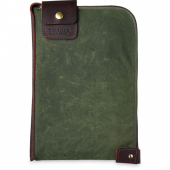 Small Wacouta Gear Pouch Olive Waxed Canvas