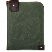 Large Wacouta Gear Pouch Olive Waxed Canvas