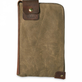 Small Wacouta Gear Pouch Tan Waxed Canvas