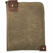 Large Wacouta Gear Pouch Tan Waxed Canvas