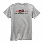 Red Wing Archive Logo T-shirt Light Grey