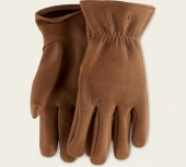 Nutmeg Buckskin Leather - Unlined Glove