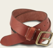 Oro Russet Pioneer Leather Belt