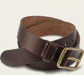 Amber Pioneer Leather Belt