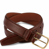 Teak Featherstone Leather Belt