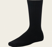 Classic Crew Boot Socks - Black