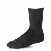 Cotton Cushion Boot Socks - Black