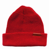Red Wing Merino Wool Knit Cap Red
