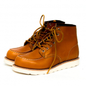 Irish Setter Moc Style No 9875 - Gold Russet Sequoia Leather