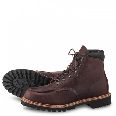 Sawmill Style No 2927 - Briar Oil Slick Leather i gruppen Red Wing Stockholm / Herr / Sawmill hos Sivletto - Skylark AB (rws2927)