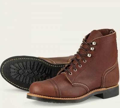 Iron Ranger Style No 3365 - Amber Harness Leather i gruppen Red Wing Stockholm / Dam / Iron Ranger hos Sivletto (rws3365)
